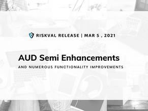 RiskVal Fixed Income (RVFI) Weekly Enhancements - 3/5/21