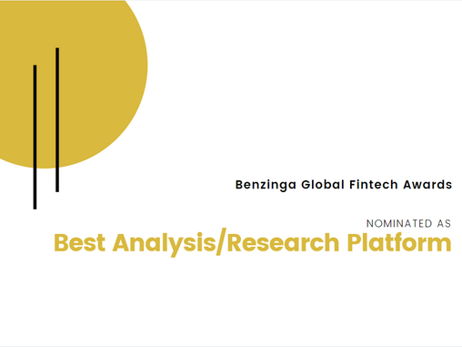 RiskVal Nominated as Best Analysis/Research Platform by Benzinga Global Fintech Awards