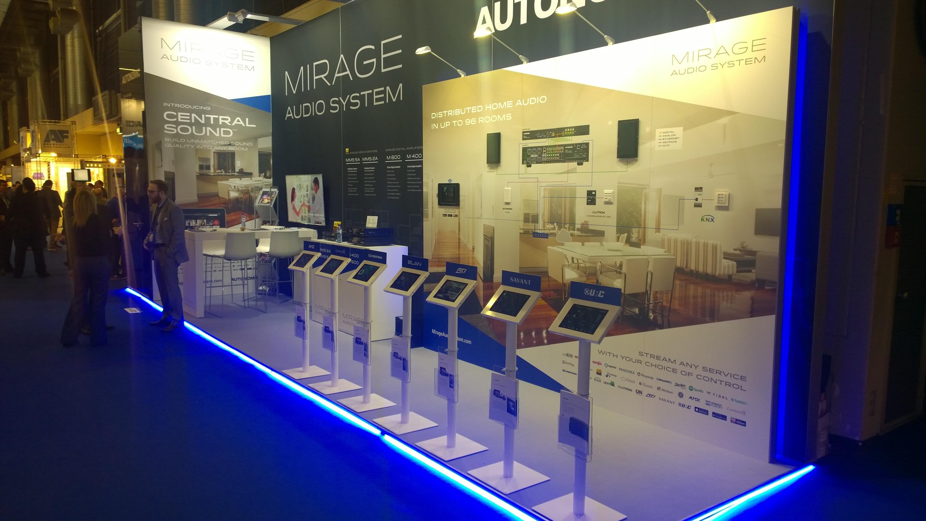 Exhibition floor stand