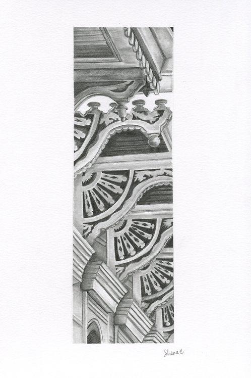 Original New Orleans drawing