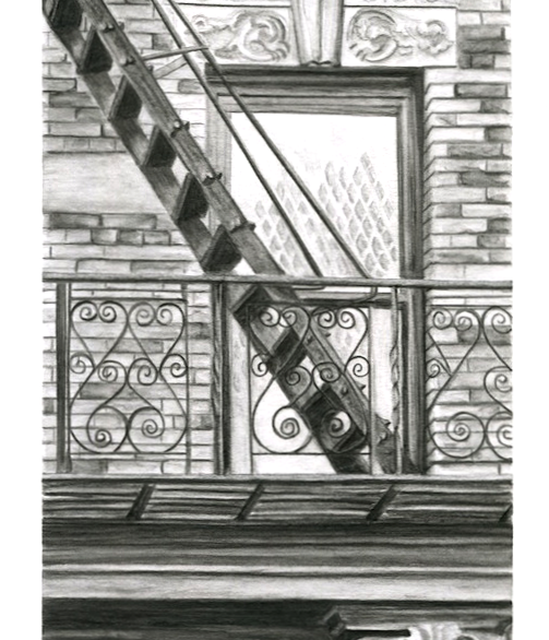 Brooklyn Fire Escape $250