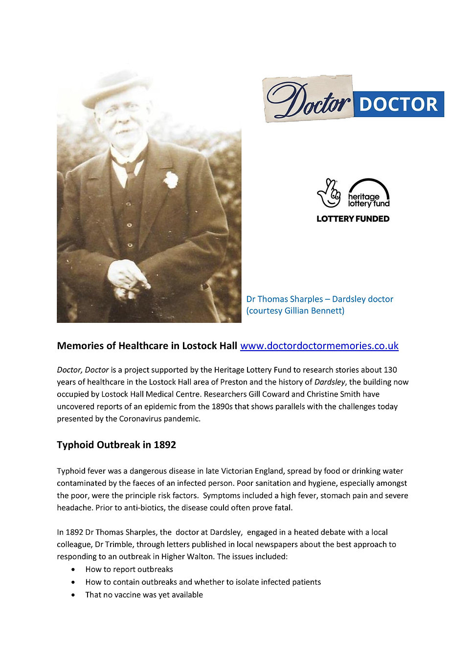 Typhoid Outbreak in 1892 - update[2683]-