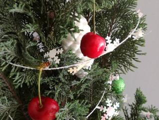 Guindas en Navidad