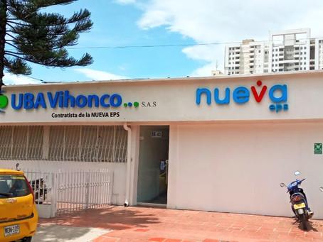 NUEVA UBICACION  SEDE 4-SUBSIDIADO UBA VIHONCO S.A.S