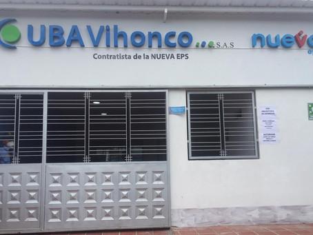 APERTURA SEDE SUBSIDIADO VILLA  DEL ROSARIO UBA VIHONCO S.A.S