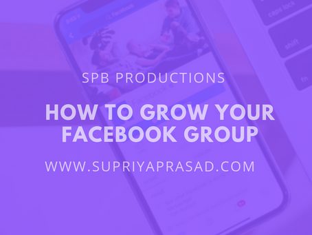 How to Grow Your Facebook Group!