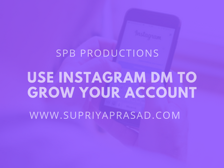 Using Instagram DMs to Grow Your Account.