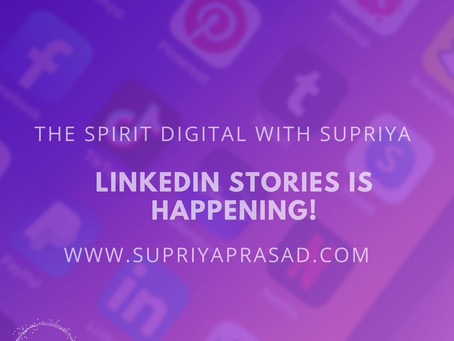 LinkedIn Stories are Coming!