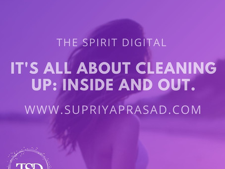 It's All About Cleaning Up, Inside and Out!