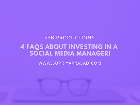 4 FAQs on Investing in Social Media Management