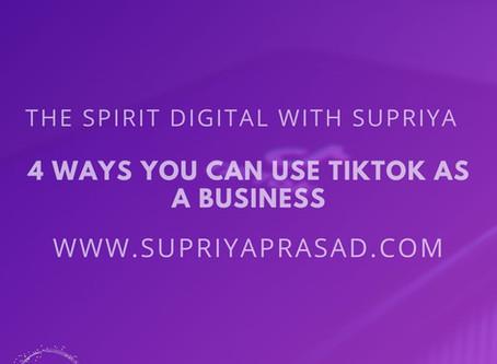 4 Ways Integrate TikTok in Your Digital Marketing Strategy