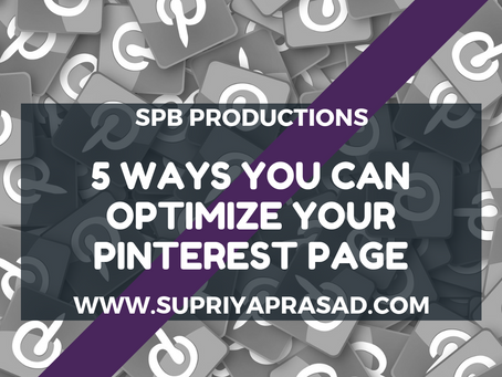 5 Ways to Optimize Your Pinterest Page
