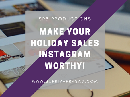 Make Your Holiday Sales Instagram Worthy!