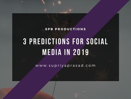 3 Predictions For Social Media in 2019