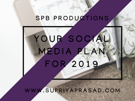 Your Social Media Marketing Plan for 2019