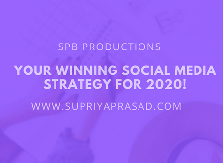 5 Ways to Create a Winning Social Media Strategy for 2020!
