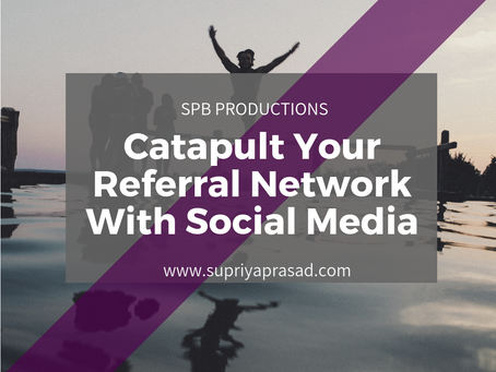 Catapult Your Referral Network With Social Media