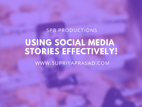 Using Social Media Stories Effectively