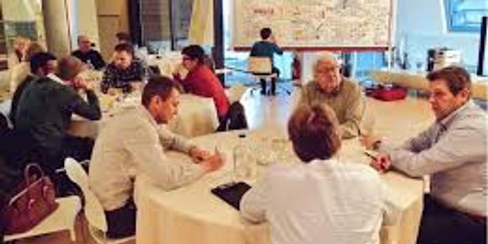 🥗 Employee Engagement: World Cafe Experience