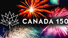 HAPPY 150 YEARS CANADA