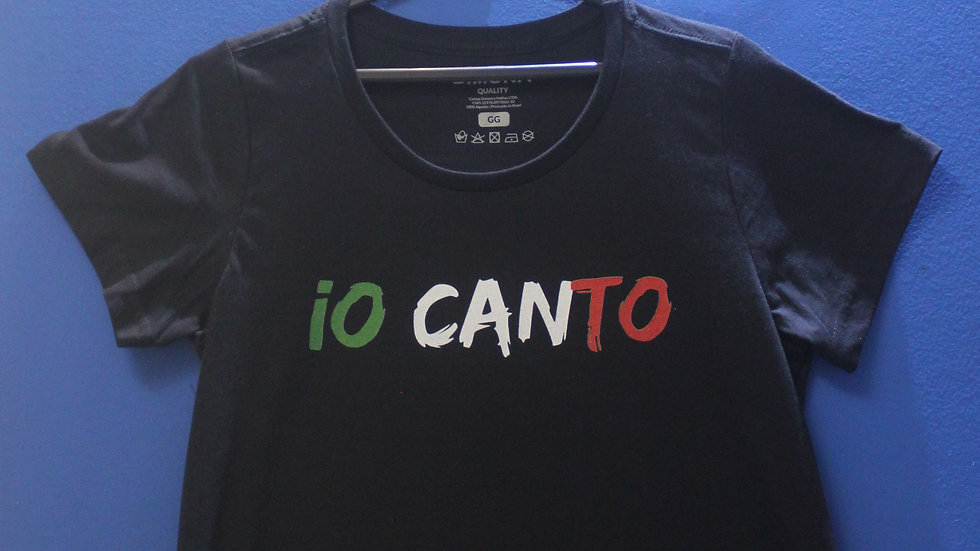 Camiseta com estampa exclusiva IO CANTO