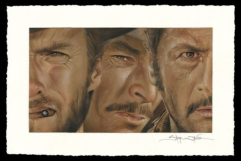 """""""The Good, the Bad, and the Ugly"""" print"""
