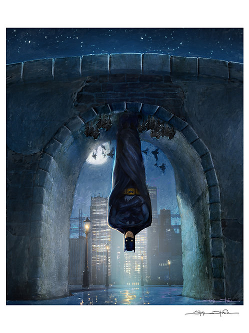 """The Bat"" print"