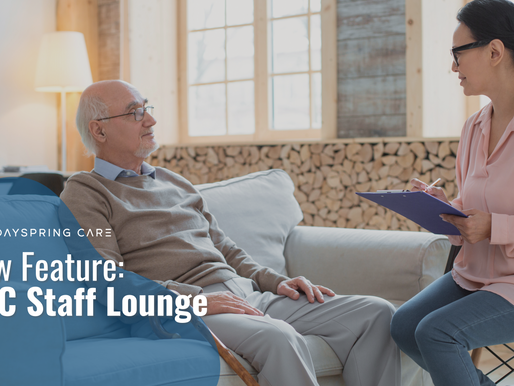 New Feature: Staff Lounge