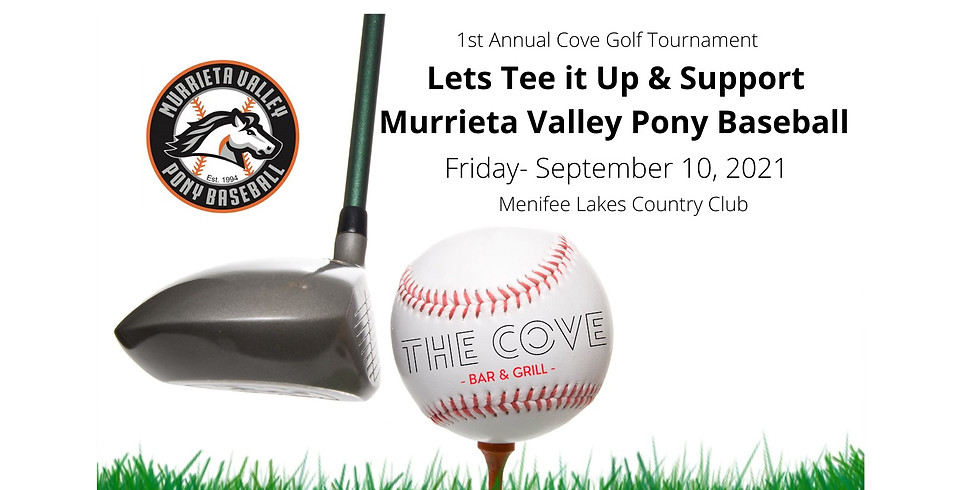 1st Annual  -  The Cove Bar & Grill  Golf Tournament