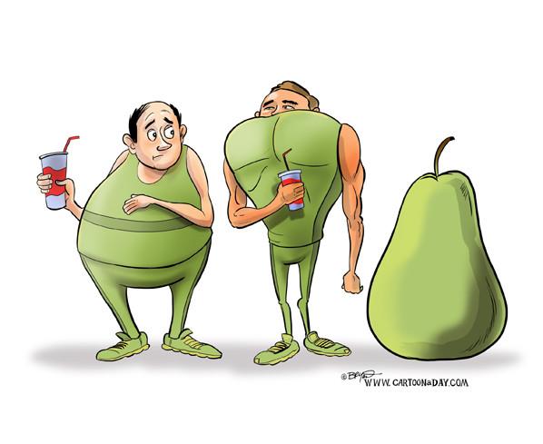Pear-Shape Body
