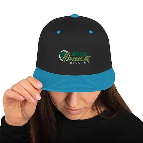 Real Hulk Records Snapback Hat