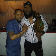 Bruce and Pastor Troy