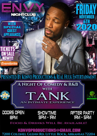 A Night of Comedy & R&B with Tank