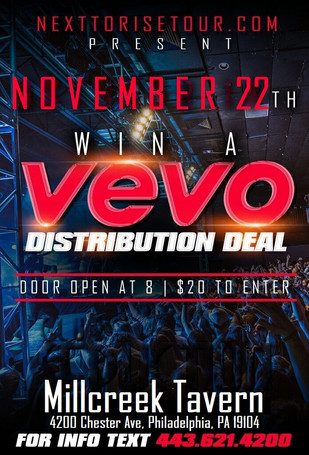 Vevo Showcase in Philly
