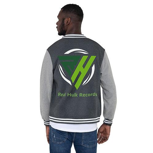Real Hulk Records Logo Men's Letterman Jacket