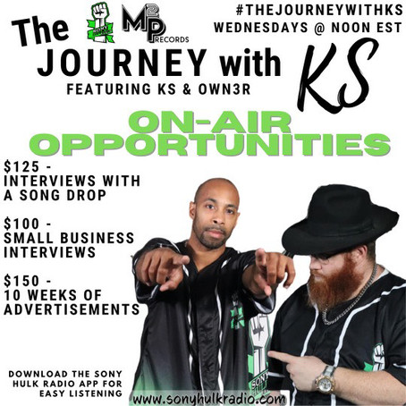 Live Today at Noon... The Journey with KS