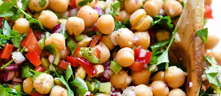 Chickpea Salad (2-3 servings)