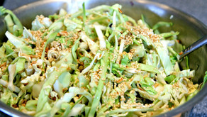 Asian Cabbage Salad (serves a family)