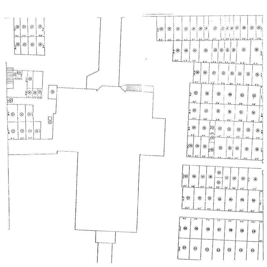 Cemetery Layout -St. John's Episcopal Ch