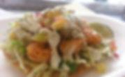 StreetFoodBlvd Shrimp Tostada