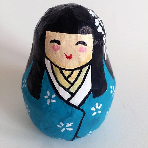 Figura japonesa Maiko Celeste