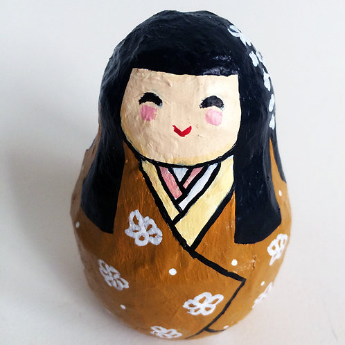 Figura japonesa Maiko Ocre