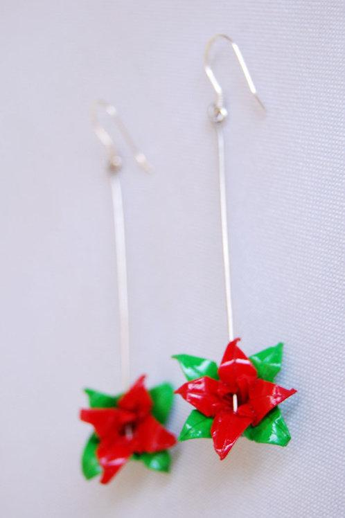 Aros Origami Lirio pequeño
