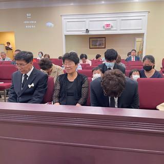 최영복 장로님 모친 고 김옥순 권사님 천국환송예배 (3)