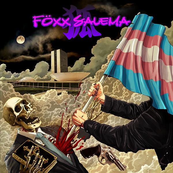 Föxx Salema = Mankind (Trans Flag)
