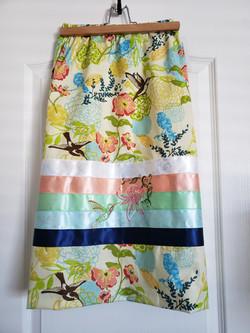 hummingbird ribbon skirt