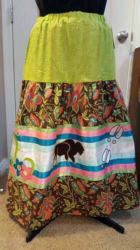 Buffalo Ribbon Skirt