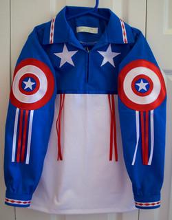 Boy's Captain America Shirt