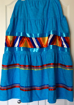 Ribbon Skirt with Quilt Band