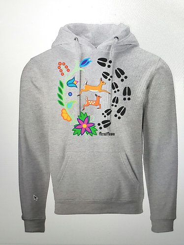 Pre-order for Doe and Fawn Grey Hoodie